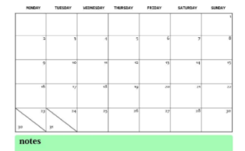 Cute December 2019 Calendar Design