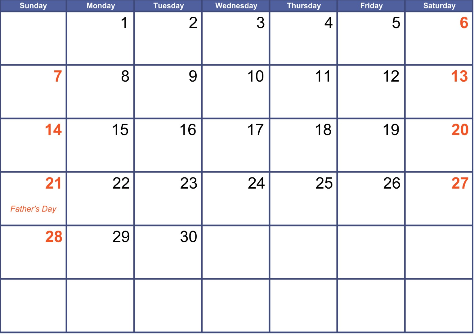 june 2020 calendar with holidays canada