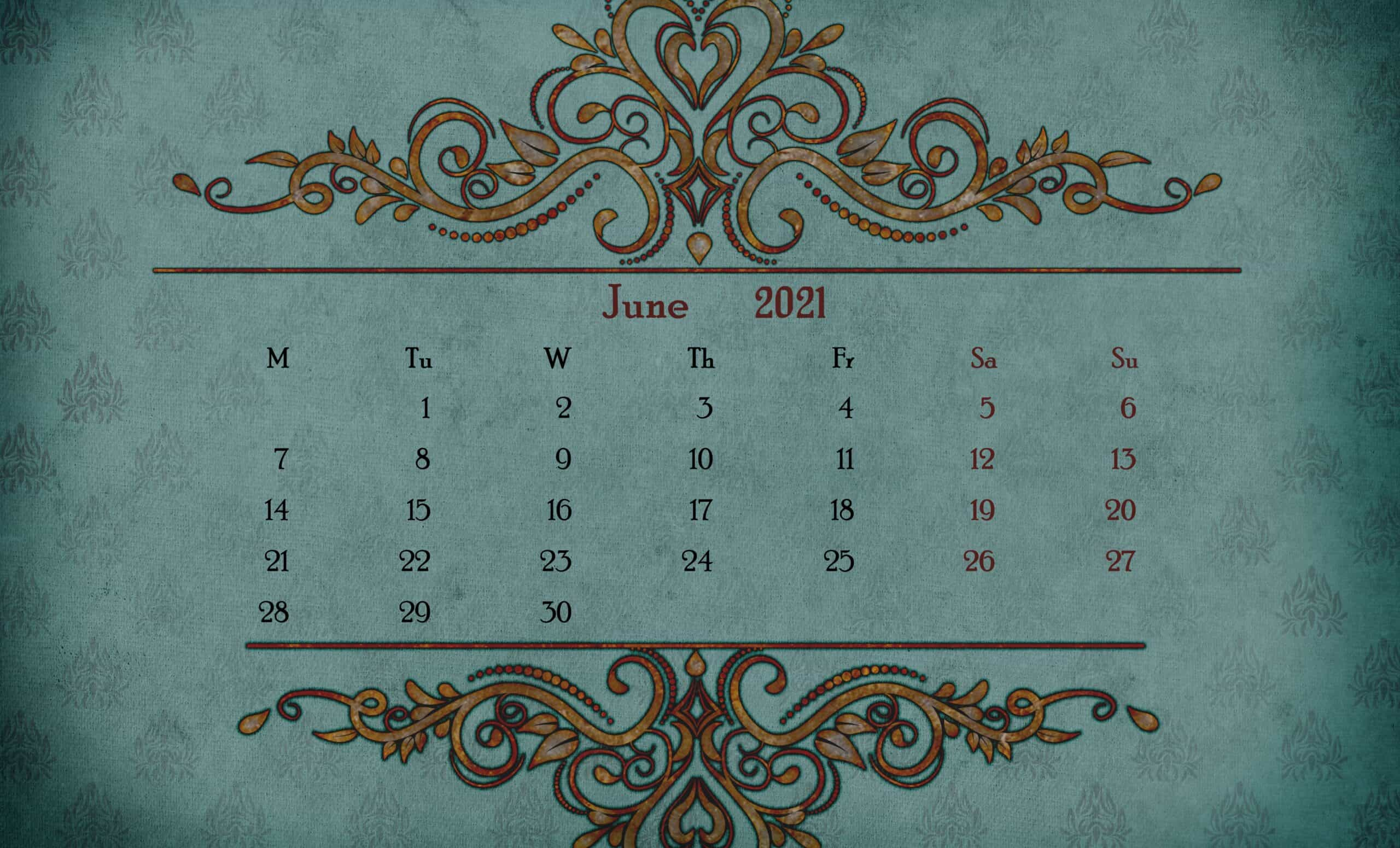 Printable Calendar 2021 December 1