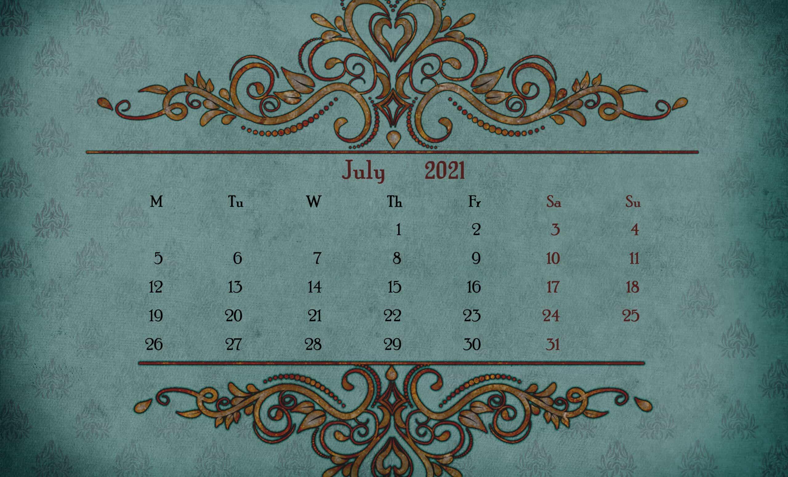 Printable Calendar 2021 December 2
